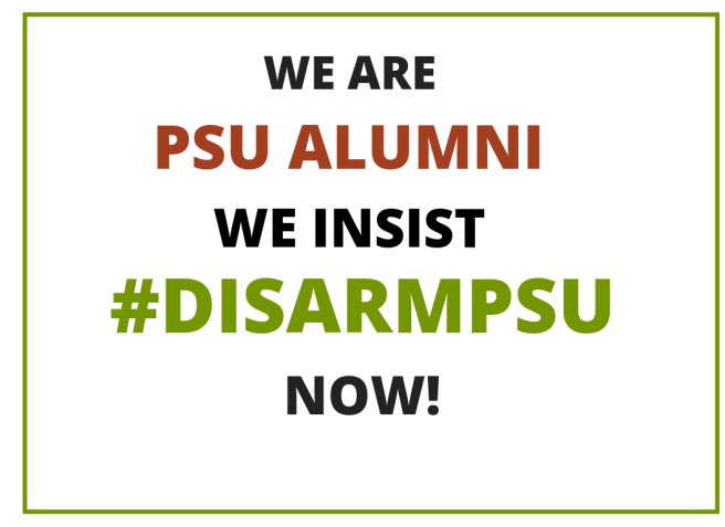 Disarm PSU Alumni