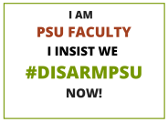 PSU Faculty Disarm